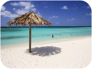 Strand van Aruba
